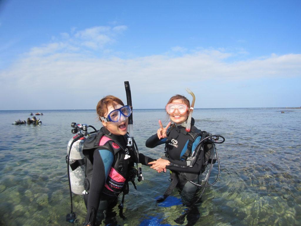 体験ダイビングの質問