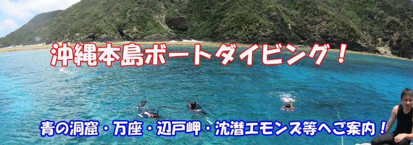 沖縄本島ボートダイビング