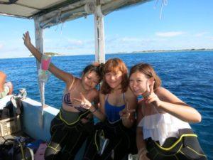 沖縄ブルーを楽しむ♪