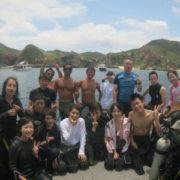 海の日連休楽しく潜ってます!
