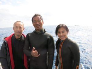 暖冬で快適ダイビング!