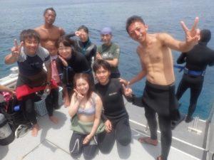 暑いです。沖縄
