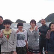 慶良間で体験ダイビング!