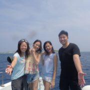 Welcome to Japan!! in OKINAWA 沖縄|慶良間|渡名喜
