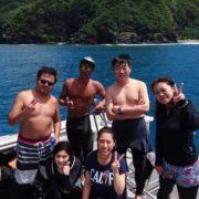 期待を胸にケラマと午後からダイビング!慶良間ダイビング 沖縄