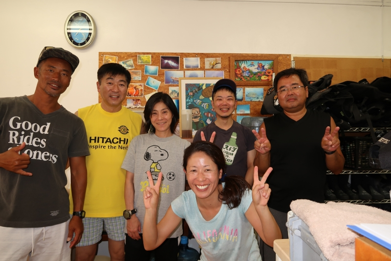 本日晴天なり☀ 慶良間ファン/沖縄ダイビング