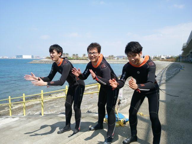 マンタフィーバーに乗れず😢 沖縄ダイビング|慶良間