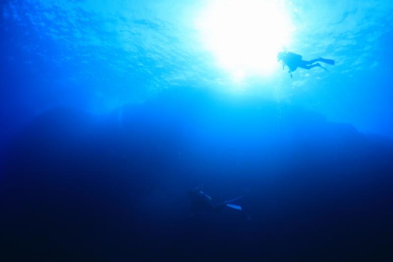 マンタにトゥアカ(*^▽^*)  ケラマファンダイビング/沖縄ダイビング