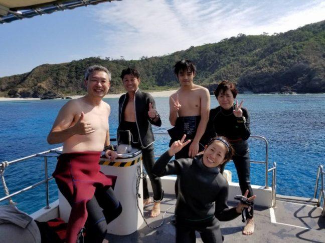夏日です(^^♪ 沖縄ダイビング/慶良間ファンダイビング