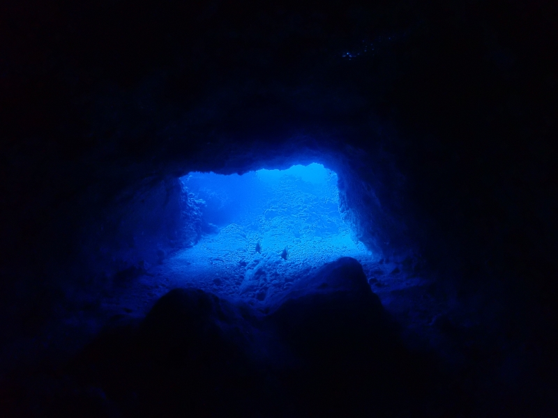 慶良間水中洞窟