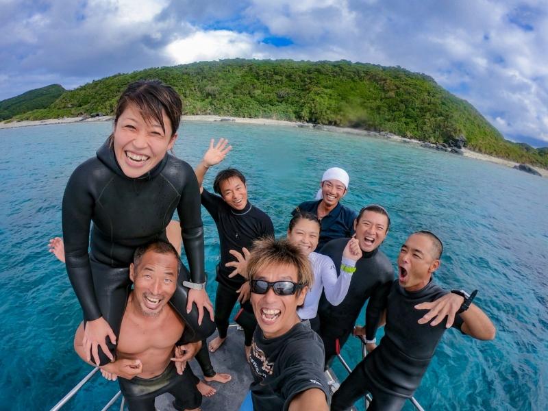 沖縄ダイビングインストラクター