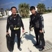 今日は肉の日講習の日♪  沖縄|ダイビング