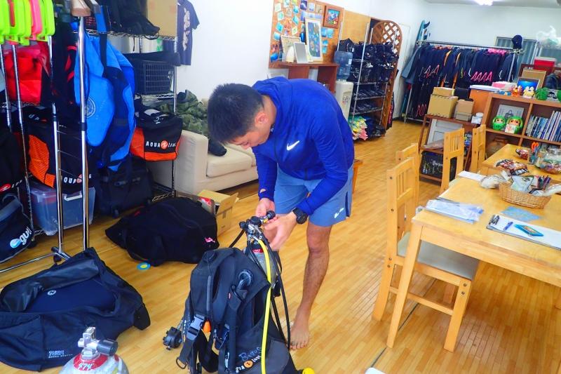 マンツー講習!!  沖縄|ダイビング