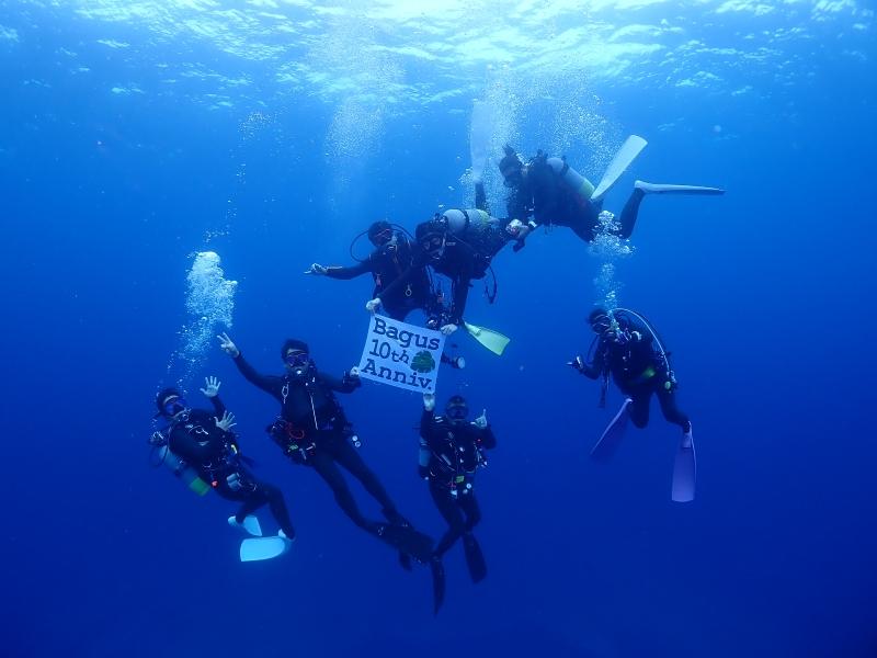 沖縄のダイバーたち