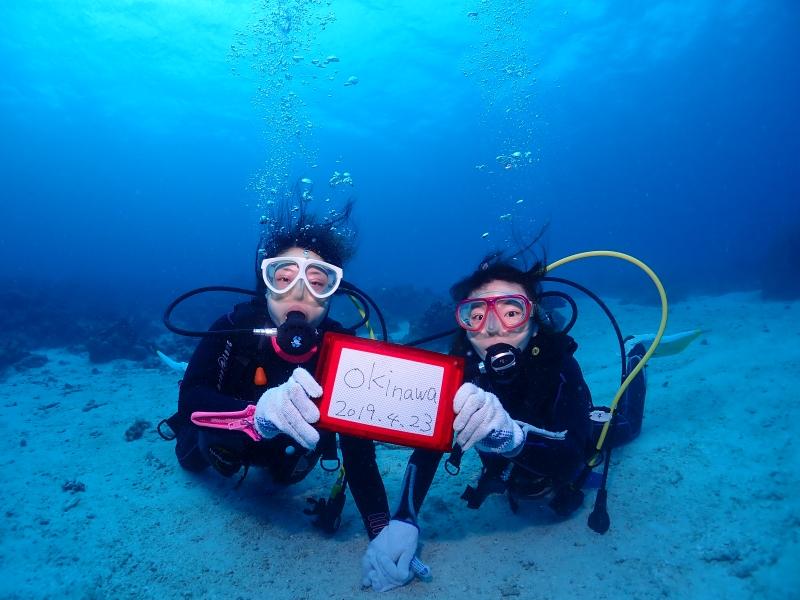 沖縄の体験ダイバー